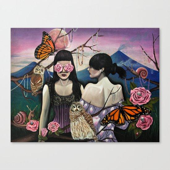 Isabela at Cristina Canvas Print
