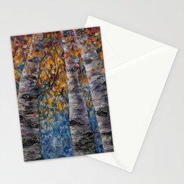 Aspen Trees by OLena Art Stationery Cards