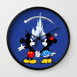 Making Wishes Come True Wall Clock