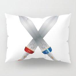 Two Roman Swords Pillow Sham