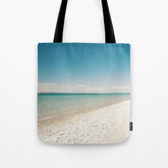 Seaside Manitou Island Tote Bag