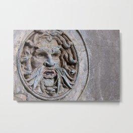 Sanssouci Greenman Metal Print