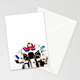 Let's fight like robots Stationery Cards