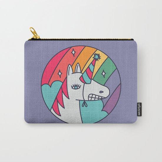 I Wish I Were a Unicorn Carry-All Pouch
