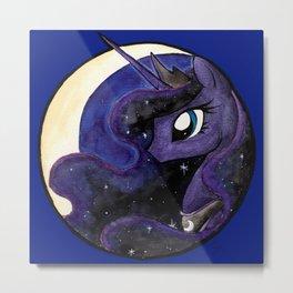 Night's Princess Metal Print