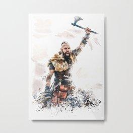 Mighty Sigefrid Metal Print