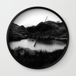 Fairy Glen, Isle of Skye, B/W Wall Clock