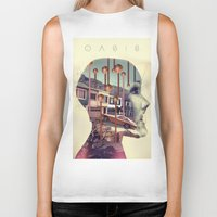 oasis Biker Tanks featuring Oasis by Rik Labe