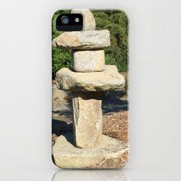Kubota Garden rock sculpture iPhone Case