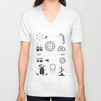 ouat V-neck T-shirts featuring OUAT - A Savior by Redel Bautista