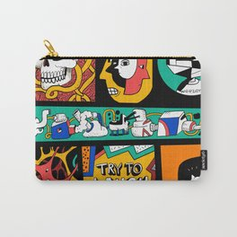 Try to laugh about it Carry-All Pouch