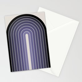 Gradient Arch - Purple Stationery Cards
