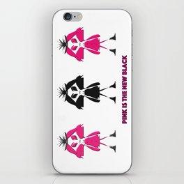 Pink Is The New Black iPhone Skin