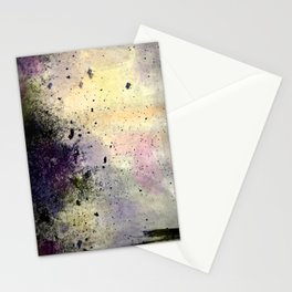 Abstract Mixed Media Design Stationery Cards