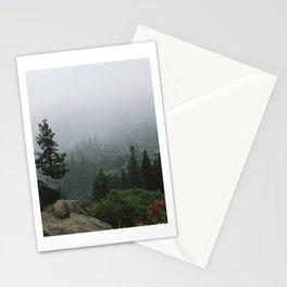 Foggy Emerald Bay Stationery Cards