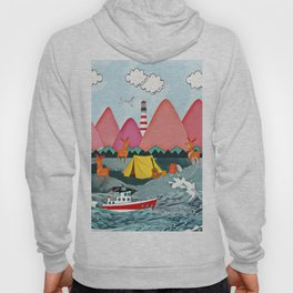 Lighthoue and the boat Hoody