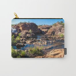 Panoramic view at Edith Falls, Katherine, Australia Carry-All Pouch