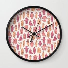 Ancient 'Venuses' Wall Clock