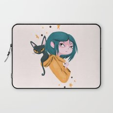 Twitchy, Witchy Girl Laptop Sleeve