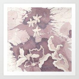 Floral Paisley Art Print