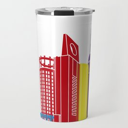 Jeddah skyline pop Travel Mug