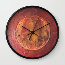 The Invader Wall Clock