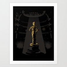 And the C3POscar goes to... Art Print