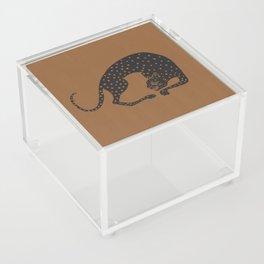 Blockprint Cheetah Acrylic Box