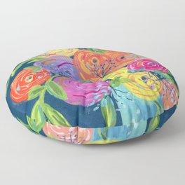 Popping Bouquet Floor Pillow