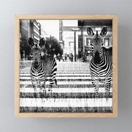 Stripes Framed Mini Art Print