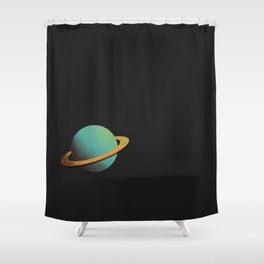 planet Shower Curtain
