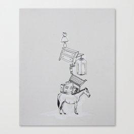 Hop On Pop Canvas Print