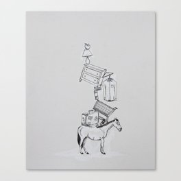 Hop On Pop Canvas Print