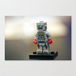 test robot Canvas Print