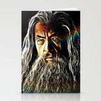 gandalf Stationery Cards featuring Gandalf by D77 The DigArtisT