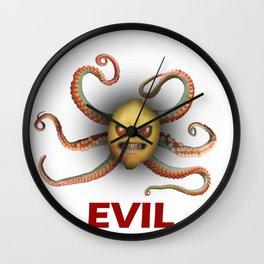 E.V.I.L. Wall Clock