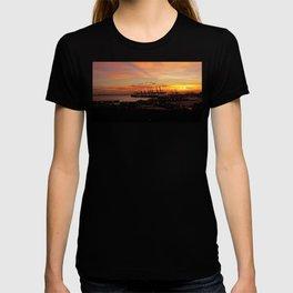 Sunset Port T-shirt