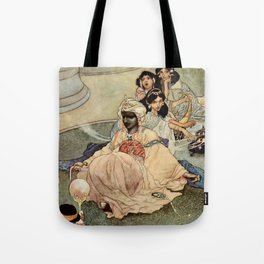 """""""King of the Mountains of the Moon"""" by Charles Robinson Tote Bag"""