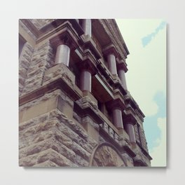 Denton, Tx courthouse Metal Print