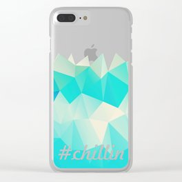 Chillin Clear iPhone Case