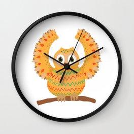 Owl-ly Molly Wall Clock