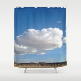 cloud photography Shower Curtain