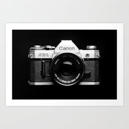 Through the Camera Lens 1 Art Print