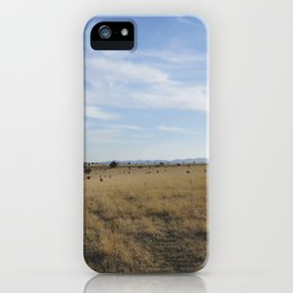 Ranch Life iPhone Case