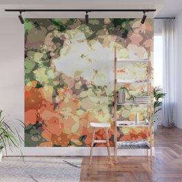 pretty peonies Wall Mural