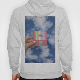 chill floppy disk Hoody