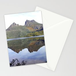 Lake and mountain Stationery Cards