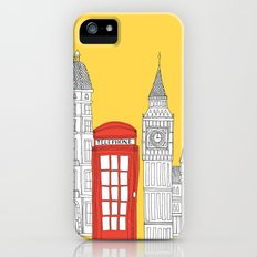Capital Icons 4 // London Red Telephone Box iPhone (5, 5s) Slim Case