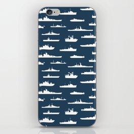 Battleship // Navy Blue iPhone Skin