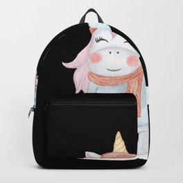 Unicorn With Balloon Backpack